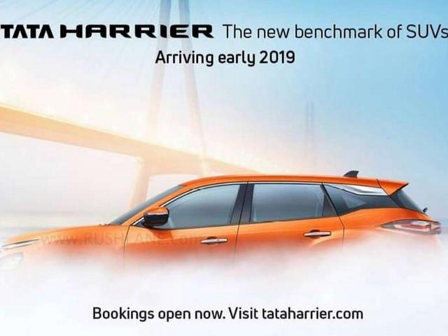 Tata Harrier side profile