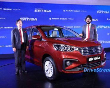 2018 Maruti Ertiga launched at Rs 7.44 lakh
