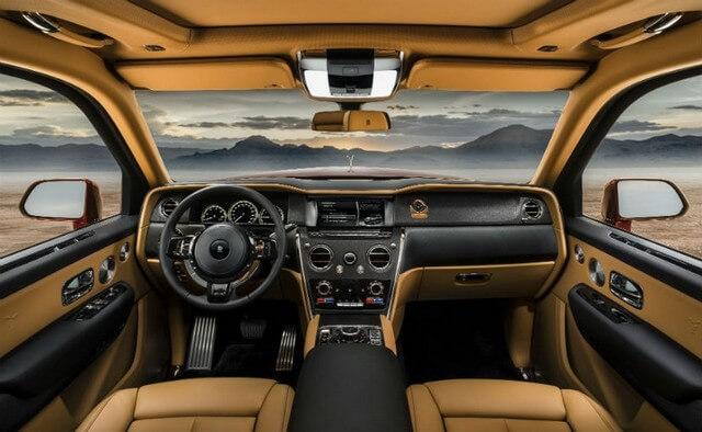 2018 Rolls Royce Cullinan interior