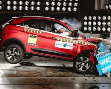 Tata Nexon Global NCAP crash test