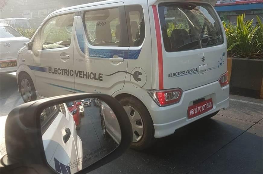 All electric WagonR side