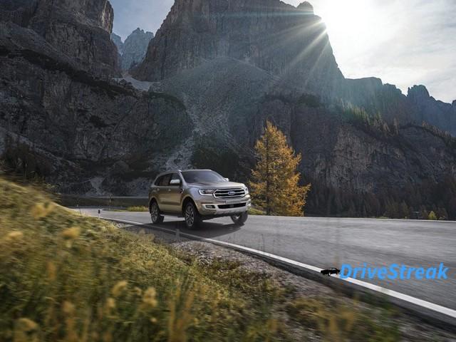 Ford Endeavour facelift image 1