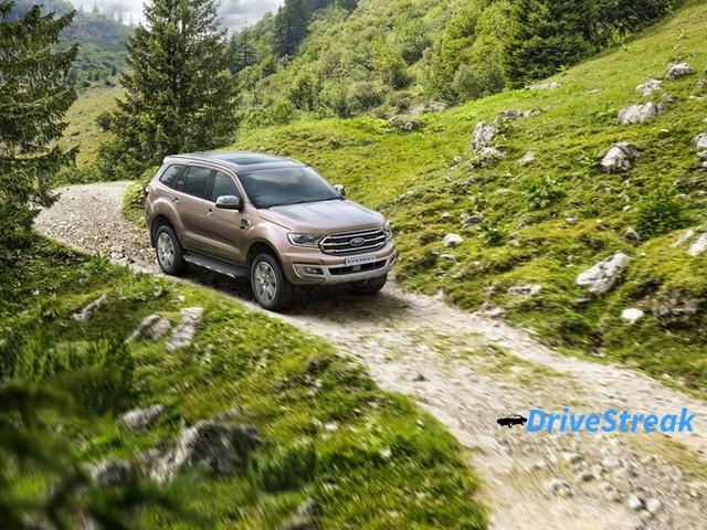 Ford Endeavour facelift image 6