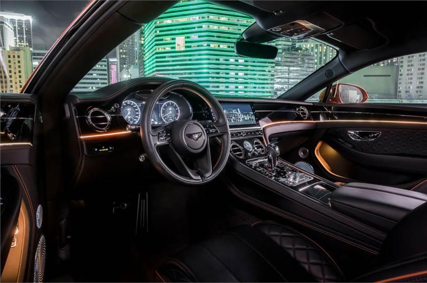 Bentley Continental GT V8 interiors