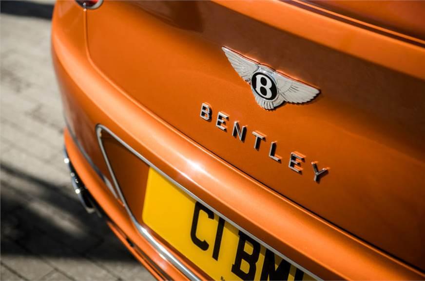 Bentley Continental GT V8 rear bumper