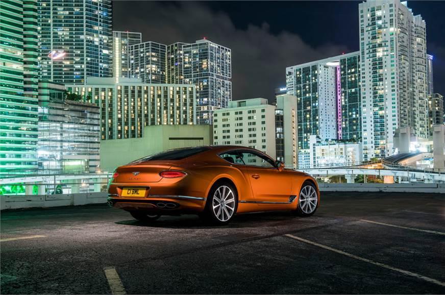 Bentley Continental GT V8 side