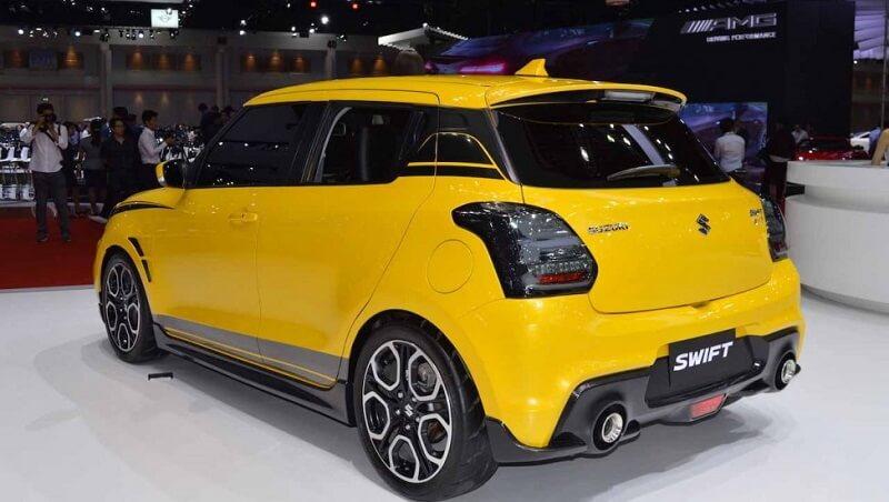Custom Swift Sport rear
