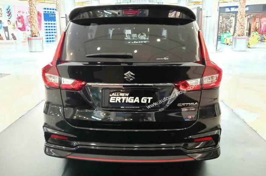 Suzuki Ertiga GT rear