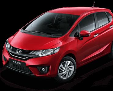 Honda Jazz Colors – Red, Silver, White, Steel, Brown