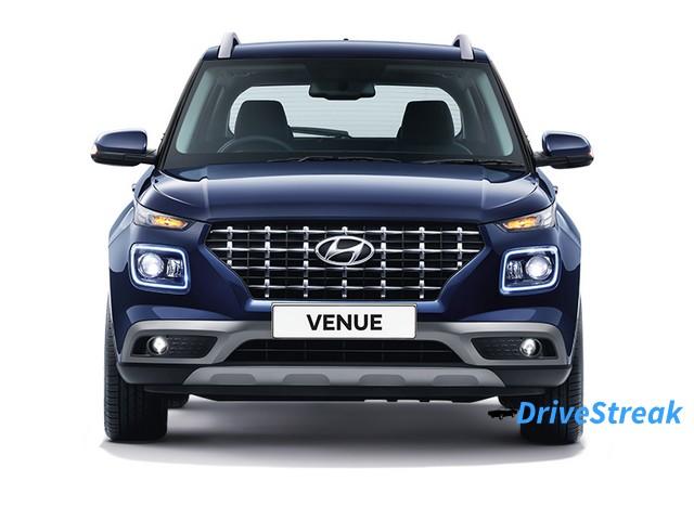 Hyundai Venue Front