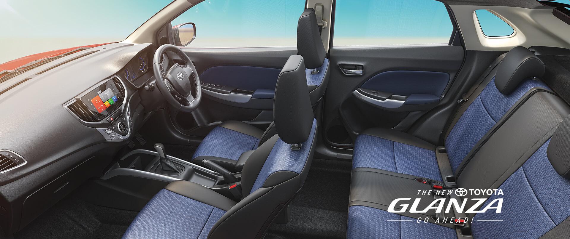 Toyota Glanza interiors