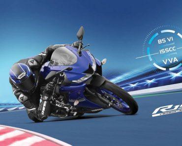 Yamaha R15 V3 top speed is an impressive 136 kmph