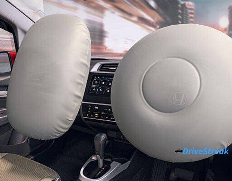 honda jazz airbags