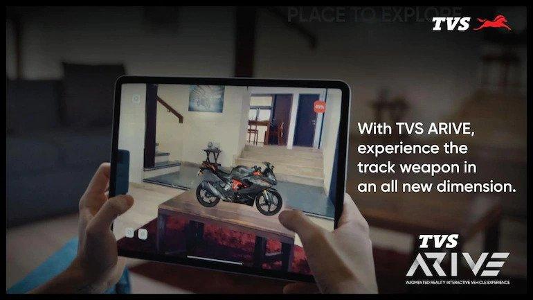 TVS Arive App