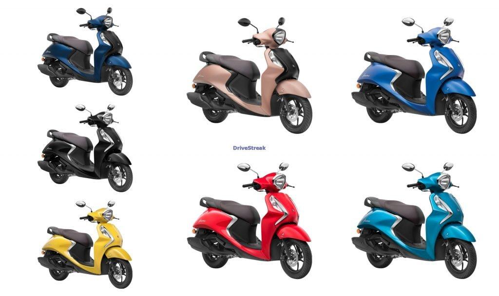 Yamaha Fascino Colours