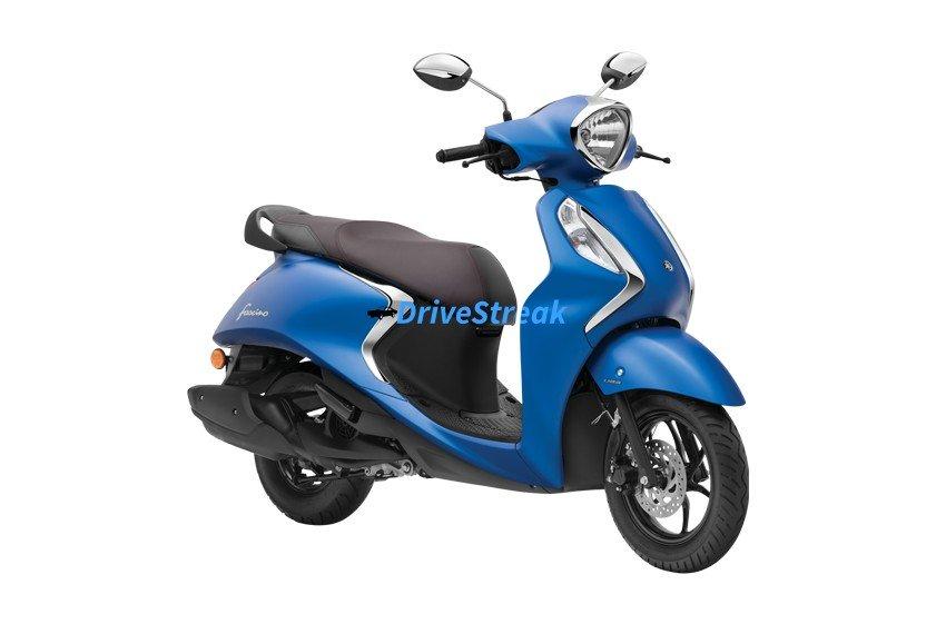 yamaha fascino matt blue colour