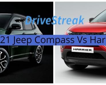 New Jeep Compass Vs Tata Harrier