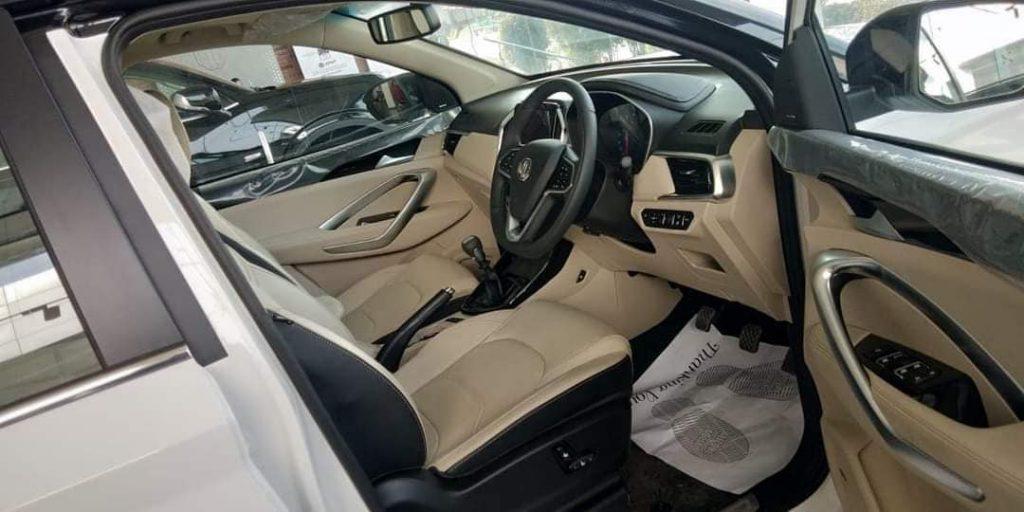 2021 MG Hector interior
