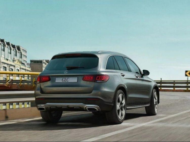 2021-Mercedes-GLC-Rear