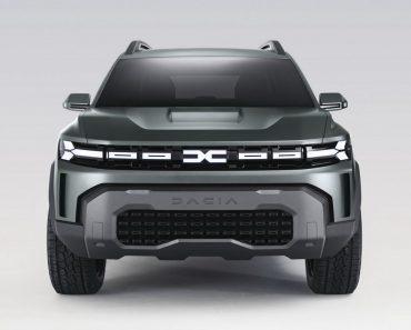 Dacia Bigster SUV concept unveiled