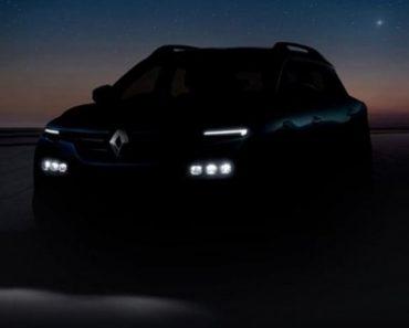 Renault Kiger Teased Ahead Of Global Debut on Jan 28, 2021