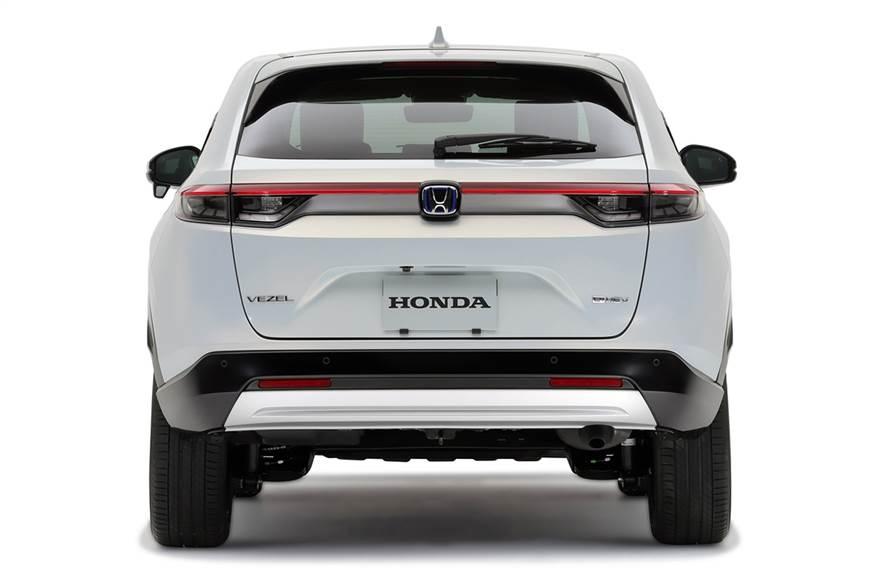 2021 Honda HRV rear