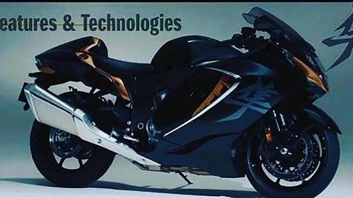 2021 Suzuki Hayabusa leaked image