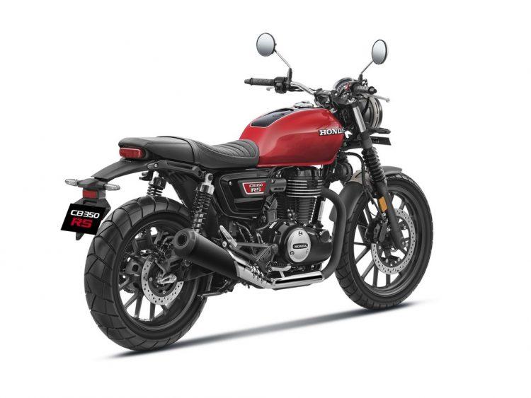 Honda-CB350RS-Radiant-Red-Metallic-Rear