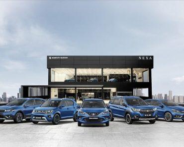 Maruti Suzuki Nexa Registers over 1.3 Million Unit Sales in 5 Years