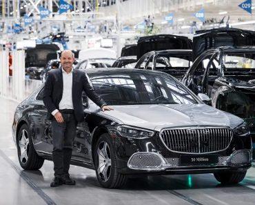 Mercedes-Benz Breaches 50 Million Vehicle Production Milestone