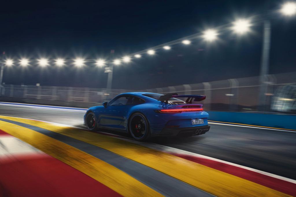 New-Gen Porsche 911 GT3 rear