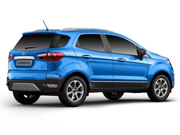 2021-Ford-EcoSport-SE-rear-three-quarter