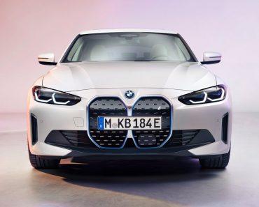 BMW i4 Electric Sedan With 590 Km Range Breaks Cover