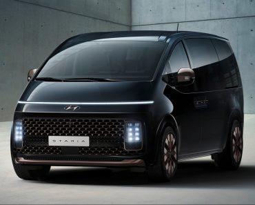 Hyundai Staria MPV Design Revealed Ahead Of Its Global Debut