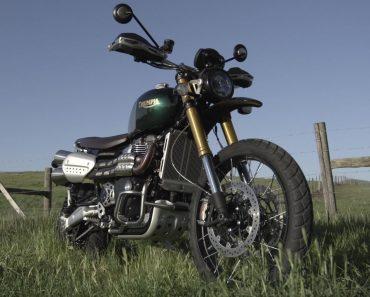 Triumph Motorcycles Reveals 2021 Scrambler 1200 Steve McQueen Edition