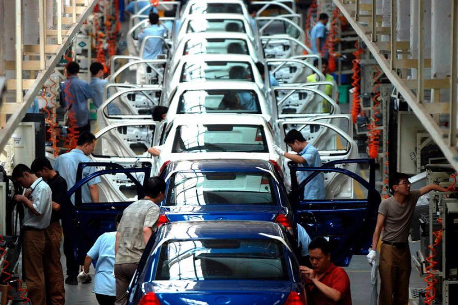 China car assembly line