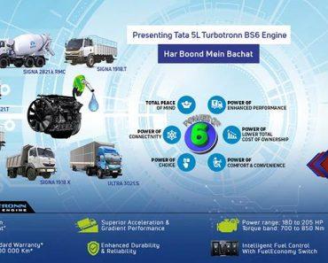 Tata Motors Introduces New Fuel Intelligent TurboTronn Engines For CV Segment