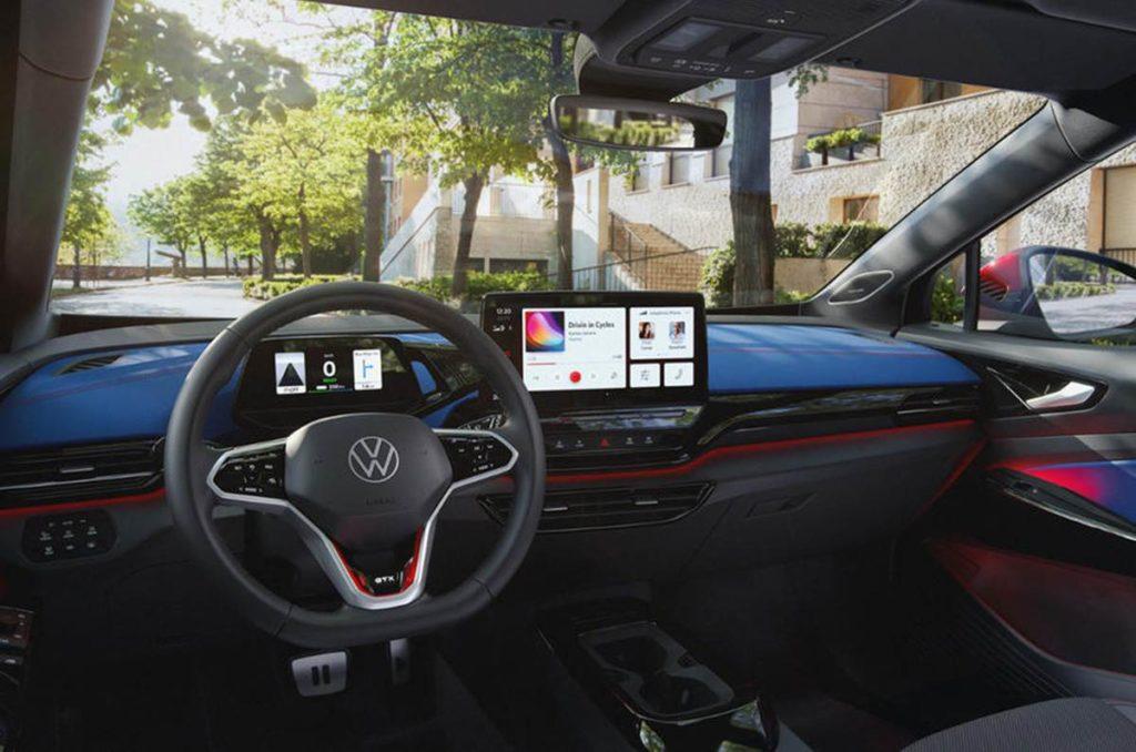 Volkswagen ID.4 GTX dashboard