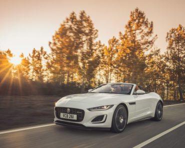 2022 Jaguar F-Type P450 V8 Unveiled