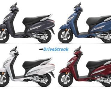 2021 Honda Activa 125 Colors