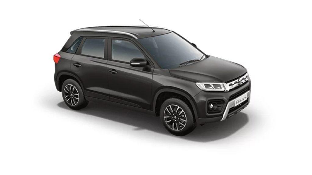 Maruti Suzuki Vitara Brezza Granite Grey color