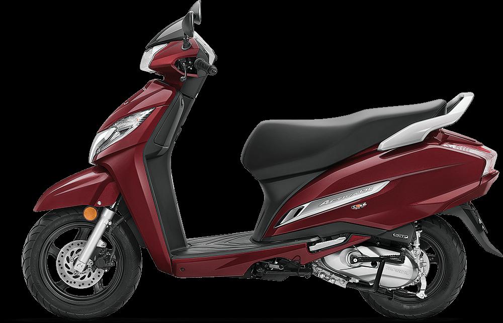 Honda Activa 125 Rebel-Red-Metallic