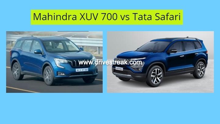 Mahindra XUV 700 vs Tata Safari-2