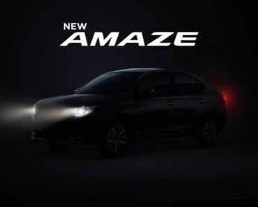 2021 Honda Amaze Launch Date Revealed, Pre-Bookings Open