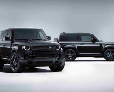 Land Rover Defender V8 Bond Edition Unveiled