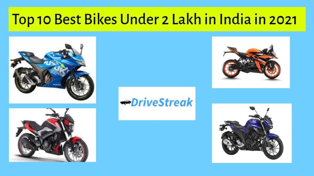 Best Bikes Under 2 Lakh in India