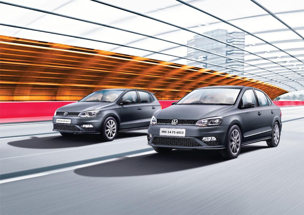 Volkswagen Polo and Vento Matte Edition